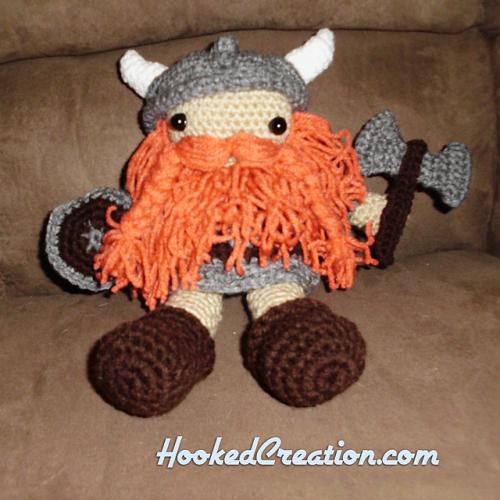Harald the Viking – Ninja Cat Crafts | 500x500